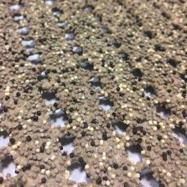 Грязезащитный противоскользящий коврик AKO Safety mat бежевый