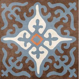 Африка микс Н1Б030 18,6х18,6 см декор напольный матовый блеск