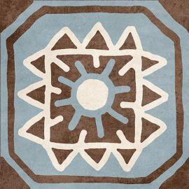 Африка микс Н1Б090 18,6х18,6 см декор напольный матовый блеск
