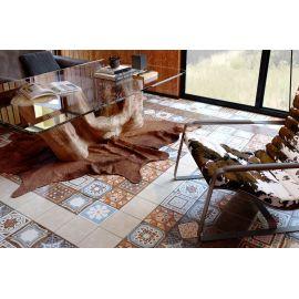 Коллекция плитки Africa микс завода GoldenTile в интерьере