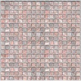 Cream Jade DAO-503-15-4 мозаика из камня 1,5х1,5 см