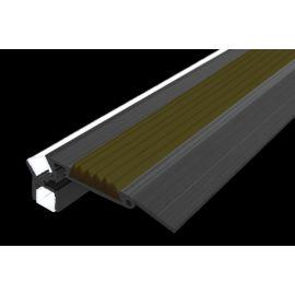 Алюминиевый профиль для подсветки ступеней GlowStep-52  в темноте.