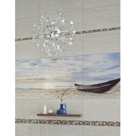 Коллекция плитки Crema Marfil Sunrisу от ГолденТайл в интерьере