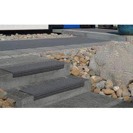 Наружный грязезащитный корик AKO Safety mat антрацит для ступеней