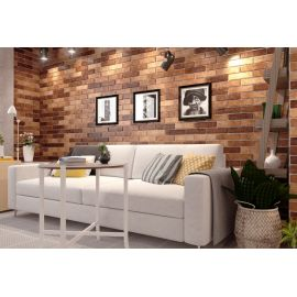 Seven Tones beige 341020 6х25 см настенная плитка в интерьере