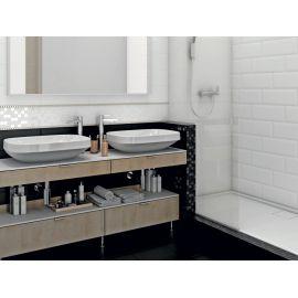 Коллекция плитки Бельканто в форме кабанчик в интерьере