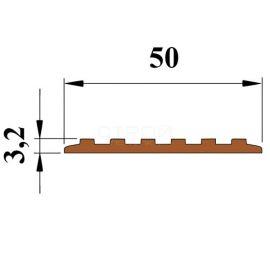 Размеры противоскользящей полосы Next П50 с самоклеющейся основой.