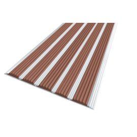 Алюминиевая полоса с 5 коричневыми вставками — Next АП-162.