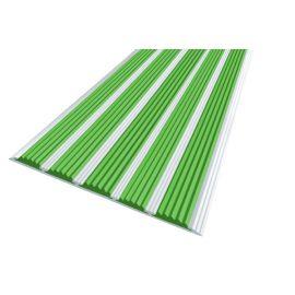 Алюминиевая полоса с 5 зелеными вставками — Next АП-162.