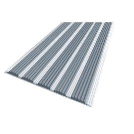 Алюминиевая полоса с 5 серыми вставками — Next АП-162.