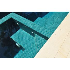 Мозаика Niebla 2502-A 2,5х2,5 см зеленого (бирюзового) цвета для бассейна