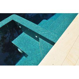 Мозаика Niebla 2502-A Safe Step 2,5х2,5 см зеленого (бирюзового) цвета для бассейна