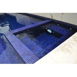 Мозаика Niebla 2503-D Safe-step 2,5х2,5 см сине-фиолетового цвета для бассейна