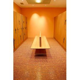 Мозаика Niebla 2504-A 2,5х2,5 см коричневого цвета завода Ezarri