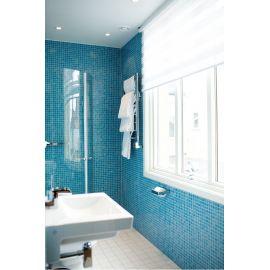 Мозаика Niebla 2508-A 2,5х2,5 см голубого цвета завода Ezarri для ванной