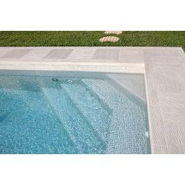 Мозаика Niebla 2522-B 2,5х2,5 см дымчато-серого цвета завода Ezarri для бассейна