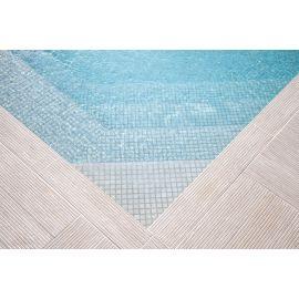 Мозаика Niebla 2522-B 2,5х2,5 см дымчато-серого цвета завода Ezarri морозостойкая