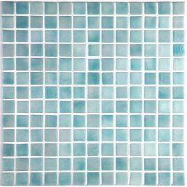 Мозаика Niebla 2529-B 2,5х2,5 см дымчато-мятного цвета завода Ezarri