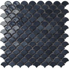 Мозаика Vidrepur Soul BR Black 6005 , 3,6х2,9 см