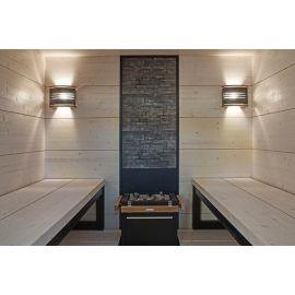 Декоративная каменная стена Harvia 204 в сауну в интерьере