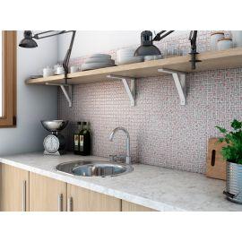 4505 Ornament стеклянная мозаика 2,5х2,5 см для кухонного фартука