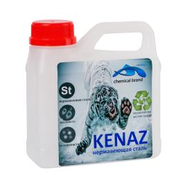 Средство для чистки поверхностей из нержавеющей стали Kenaz в канистре 5 литров.
