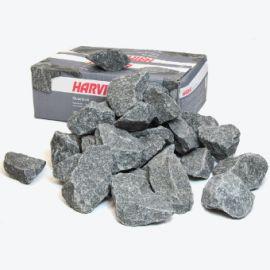 Камни габбро-диабаз 20 кг крупные Harvia для сауны