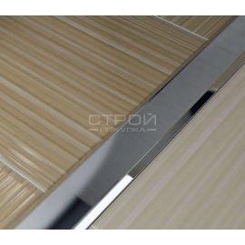 Стыкоперекрывающий профиль соединяющий плитку и ламинат | torgsp.ru