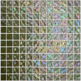 Ginger Ondulato неровная стеклянная мозаика