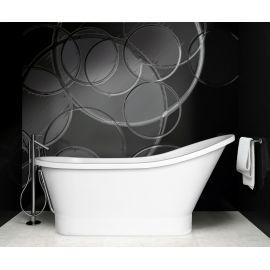 Ванна отдельностоящая из литьевого мрамора Gloria 150 от Besco.