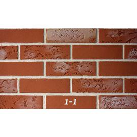 Литобрик 1-1 гибкий кирпич для фасадов и интерьеров