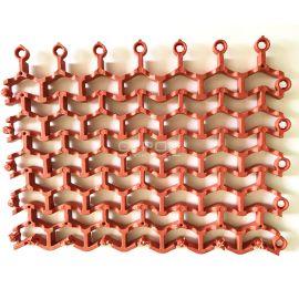 Сегментный коврик Волна состоит из 9 сегментов