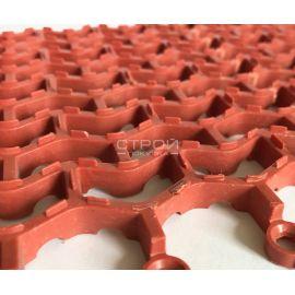 Сегментный грязезащитный коврик Волна состоит из 9 сегментов