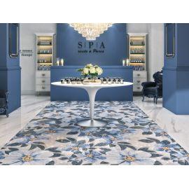 Керамический ковер Розелла синий SG591002R 119,5х238,5 см, шт