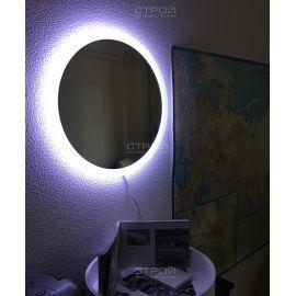 Круглое зеркало NSM-511 NS Bath диаметром 60 см с LED подсветкой