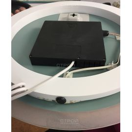 Зеркало NSM-511 с LED подсветкой, 50 см - вид оборотной стороны