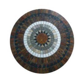 Круглое панно Paving из сланца FK-902 100х100х1 см фабрики NS Mosaic