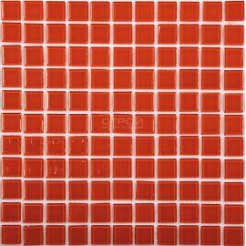 Красная мозаика Crystal JP-403 2,5х2,5 см завода NsMosaic
