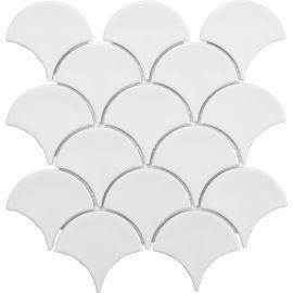 Керамическая мозаика KFS-1G рыбья чешуя