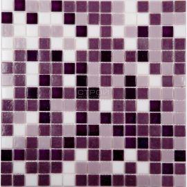 Мозаика серии Econom MIX16, 2х2 см сиреневый