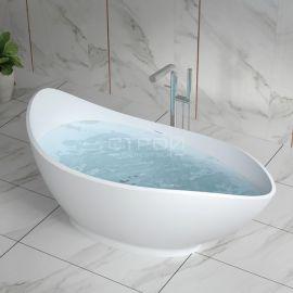 Крутая ванная NSB-17810 из полистона всегда будет новой.