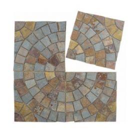 Мозаичная брусчатка Paving PAV-104 сланец