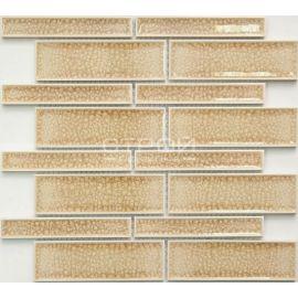 R-30 керамическая мозаика серии Rustic песочная