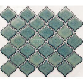 R-306 мозаика серии Rustic зеленый фонарик
