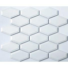 Белая керамическая мозаика R-314 NsMosaic