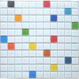 Смесь мозаики Crystal S-453 2,5х2,5 см завода NsMosaic