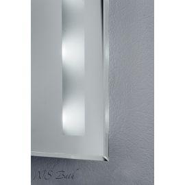 Зеркало NSM-505 с LED подсветкой, 80х60 см