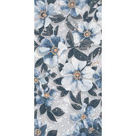 Керамический ковер Розелла синий SG591002R 119,5х238,5 см, Керама Марацци