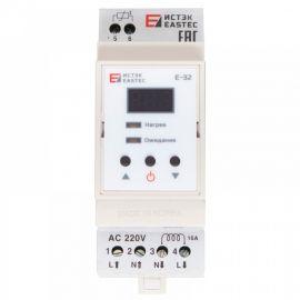 Терморегулятор EASTEC E-32 DIN (На DIN рейку. 3,5 кВт)