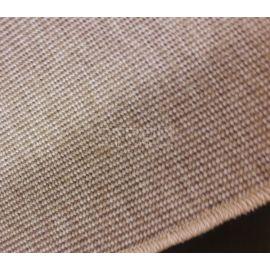 Край ковровой ступеньки Манила с строчкой оверлока.